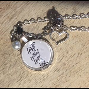 Jewelry - Love is patient, love is kind necklace